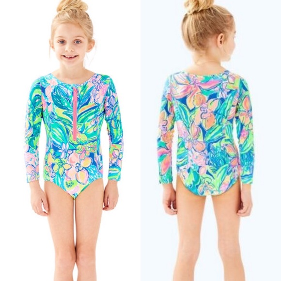 3cd591fc9c NWT Lilly Pulitzer Girls Alaina Swimsuit Size M. Listing Price: $48.00. Your  Offer